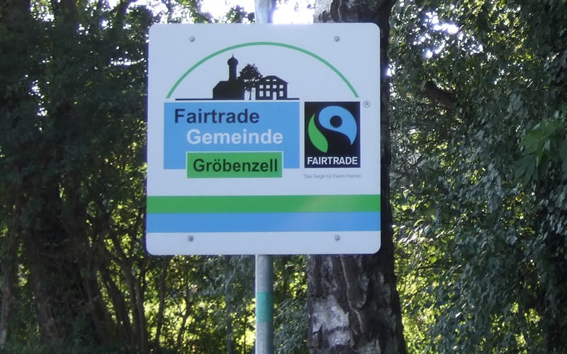 Fairtrade Ortsschilder