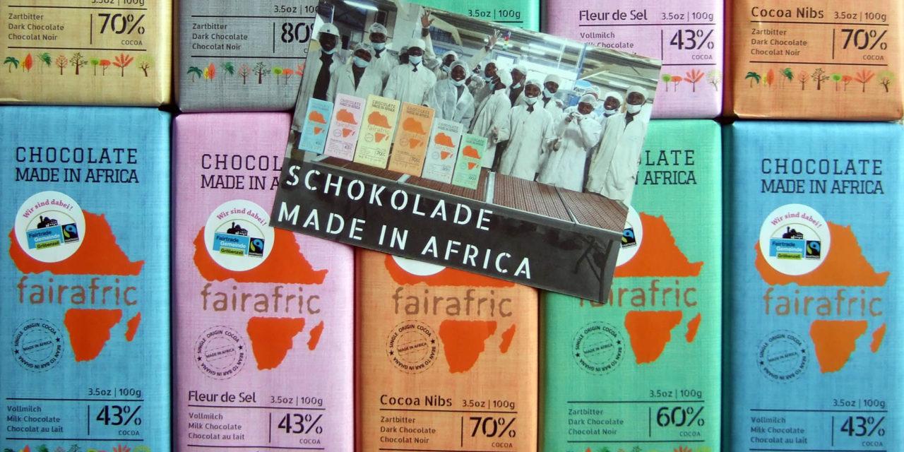 Fairafric Schokolade – jetzt auch in Gröbenzell