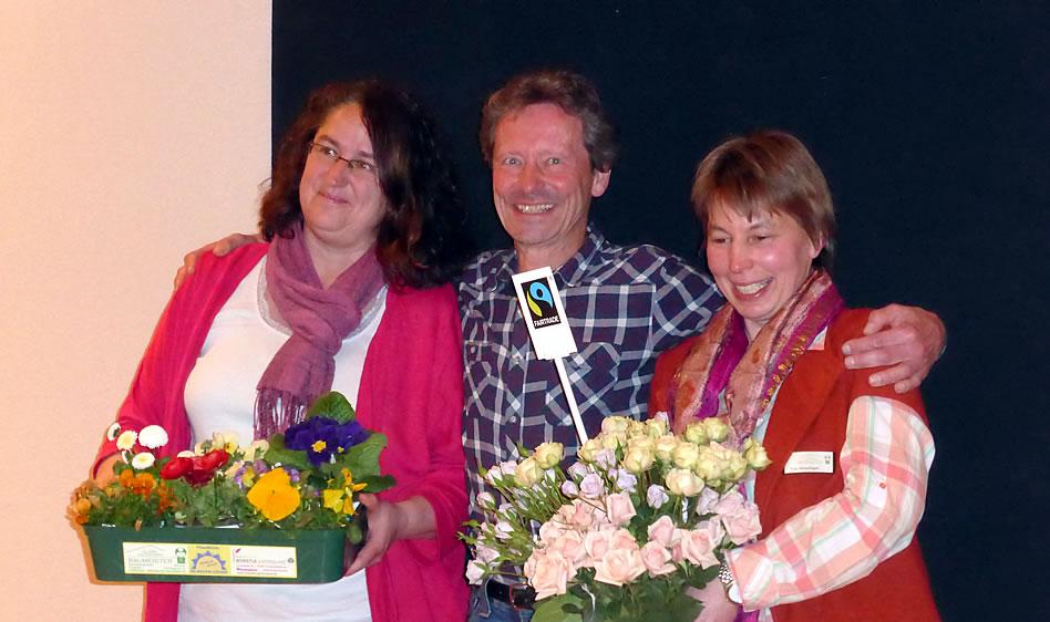 Blumen aus fairem Handel: 23.03. Bürgerhaus-Saal