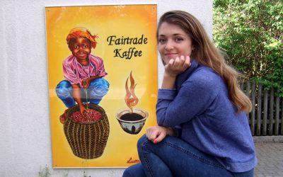 Fairtrade Großbild in der Bahnhofstraße