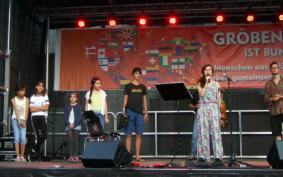 """""""Small Talk"""" live beim Gröbenzeller Buntfest"""