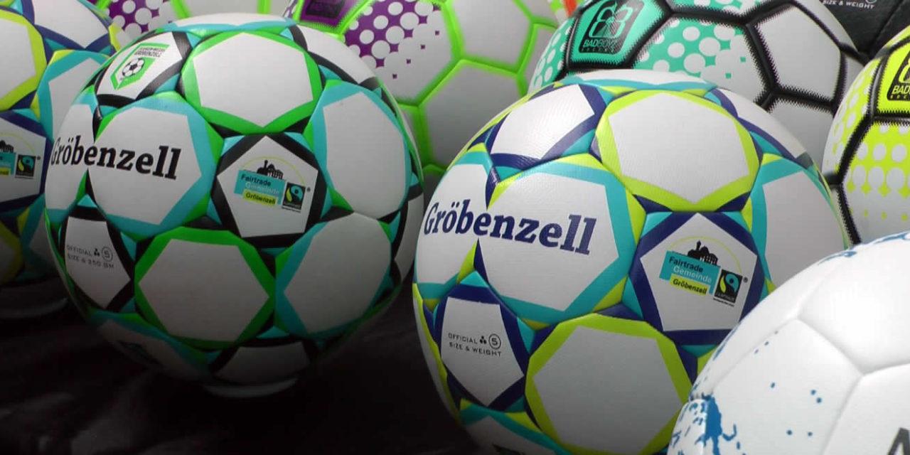 FC Grün-Weiß Gröbenzell: Neuer Spielball ist Fairtrade